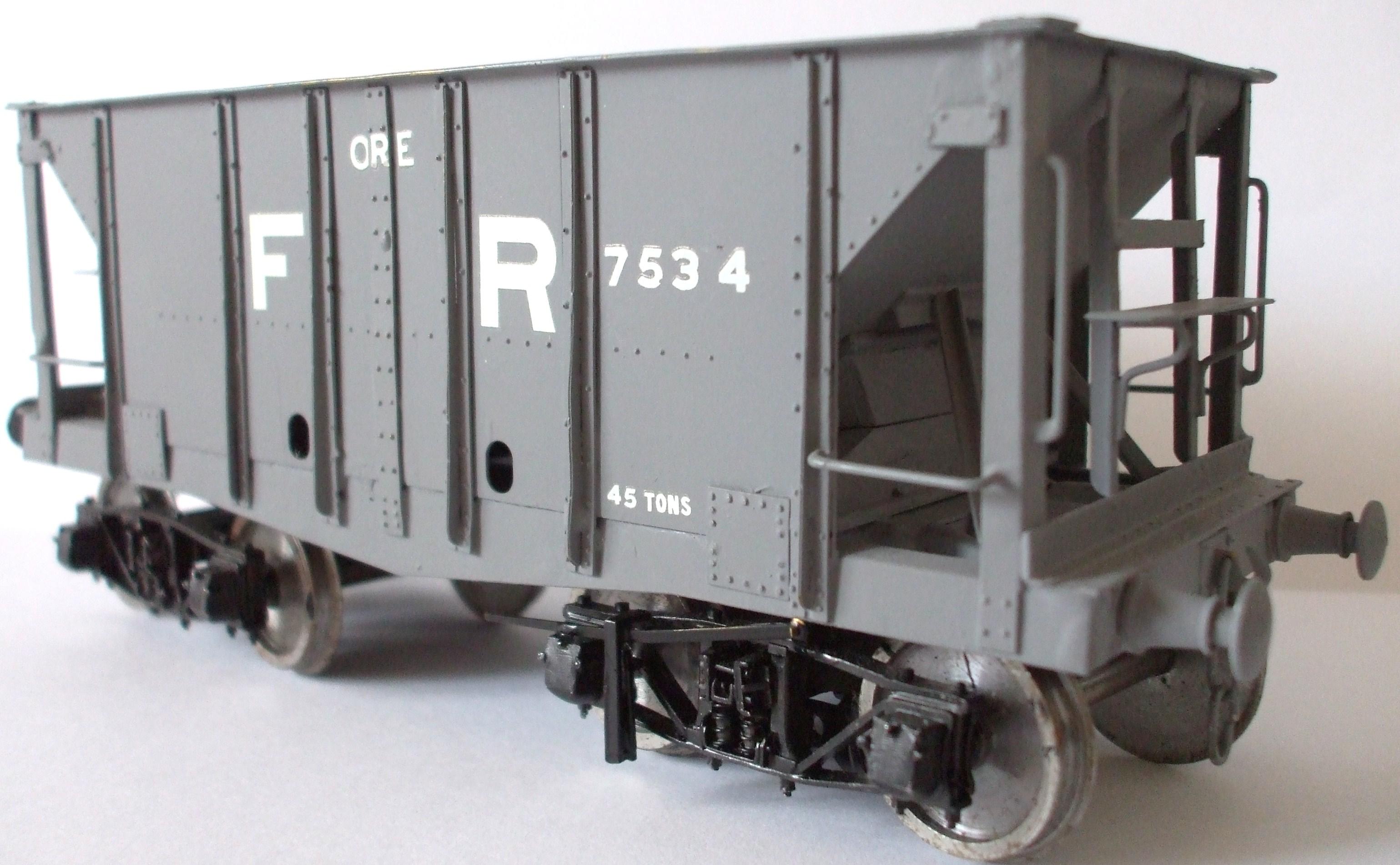 Wagons – Pre-grouping Railways From Furness Railway Wagon Company